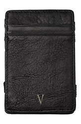 Cathy's Concepts 'Magic' Monogram Leather Wallet Grey