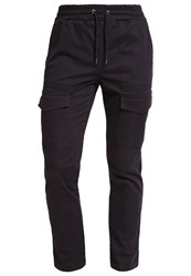 New Look Cargo Trousers Black