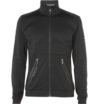 Bogner Tom Stretch Jersey Mid Layer Jacket Black