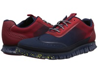Cole Haan Zerogrand Mesh Sport Oxford Poppy Men's Lace Up Casual Shoes Red