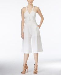 Xoxo Juniors' Culotte Jumpsuit Ivory