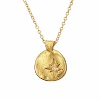 Chupi Your North Star Necklace In Gold