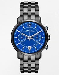 Marc By Marc Jacobs Fergus Gunmetal Stainless Steel Chronograph Watch