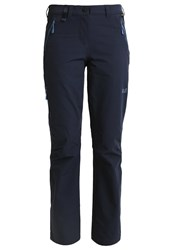 Jack Wolfskin Activate Trousers Midnight Blue Dark Blue