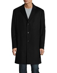 Black Brown Cashmere Car Coat Camel