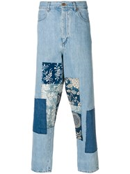 Natural Selection Reworked Denim Jeans Blue