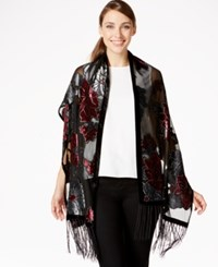 Styleandco. Style And Co. Tonal Floral Wrap Only At Macy's Raspberry