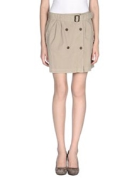 Nolita Mini Skirts Beige