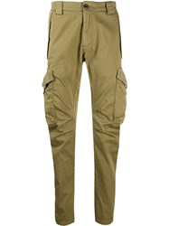 C.P. Company Cp Multi Pocket Crinkled Effect Trousers 60