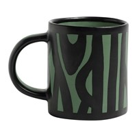 Hay Wood Mug Dark Green