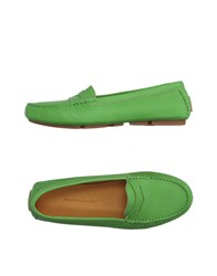 Alberto Moretti Footwear Moccasins Women Light Green