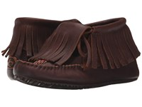 Manitobah Mukluks Paddle Grain Moccasin Vibram Cocoa Women's Boots Brown