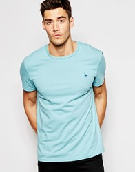 Jack Wills Sandleford T Shirt With Pheasant Logo Marine