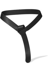 Iris And Ink Leather Belt Black