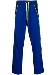 Iceberg Drawstring Track Pants Blue