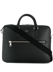 Dolce And Gabbana Minimal Briefcase Black
