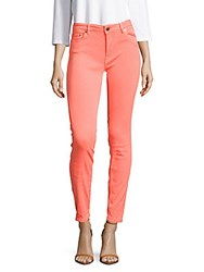 Maje Fluo Solid Slim Fit Jeans Fluorescent