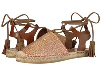 Etro Ankle Wrap Espadrille Orange Women's Shoes