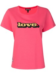 Marc Jacobs Love T Shirt Pink And Purple