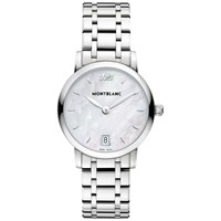Montblanc 108764 Women's Star Classique Lady Stainless Steel Bracelet Strap Watch Silver