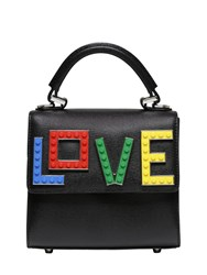 Les Petits Joueurs Micro Alex Rainbow Love Top Handle Bag