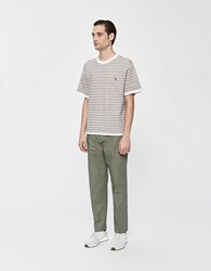 Saturdays Surf Nyc Varick Cotton Pant In Olive