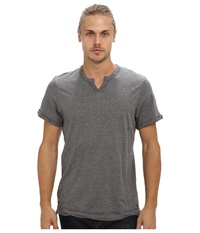 Alternative Apparel Moroccan Tee Oxford Grey Heather Men's Short Sleeve Pullover Gray