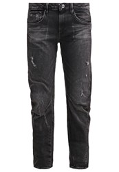 G Star Gstar Arc 3D Low Boyfriend Relaxed Fit Jeans Towi Black Stretch Denim Grey Denim