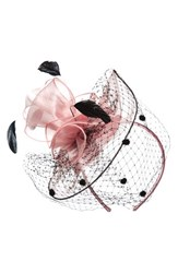Nordstrom Women's Dot And Feather Fascinator Headband