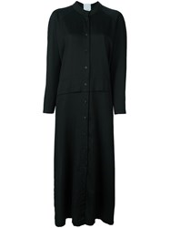 Lost And Found Rooms Long Shirt Dress Black