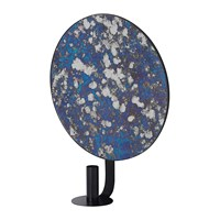 Ferm Living Round Coupled Candle Holder Blue