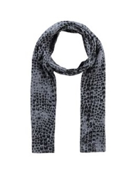 Replay Oblong Scarves Grey