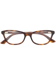 Mcq By Alexander Mcqueen Cat Eye Frame Optical Glasses 60