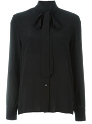 Golden Goose Deluxe Brand Pussy Bow Blouse Black