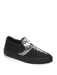 Marcelo Burlon Azelia Slip On Sneakers Black