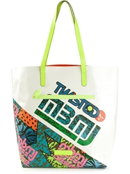 Marc By Marc Jacobs Printed Tote Bag Multicolour