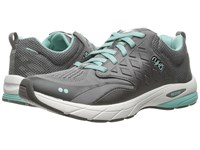 Ryka Knock Out Frost Grey Steel Grey Eggshell Blue Women's Shoes Black