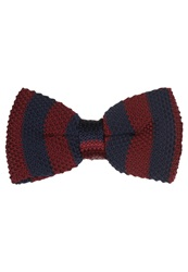 Pier One Bow Tie Red Navy