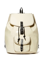 Nasty Gal Harper Ave Philip Leather Backpack