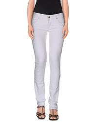 Met In Jeans Denim Denim Trousers Women White