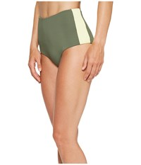 Carve Designs Sabelle Bottom Reed Women's Swimwear Green