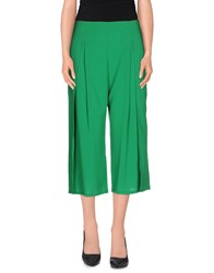Pianurastudio Trousers 3 4 Length Trousers Women Green