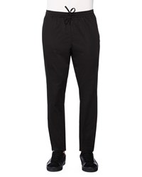 Tomas Maier Drawstring Jogger Sweatpants Black Men's