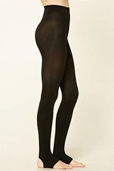 Forever 21 Opaque Stirrup Tights