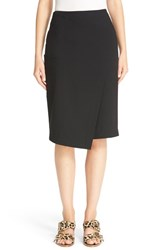 Tibi Women's Asymmetrical Faux Wrap Skirt