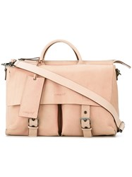 Marsell Slouchy Buckled Tote Women Leather One Size Nude Neutrals