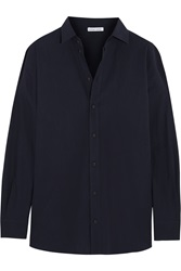 Tomas Maier Oversized Cotton Poplin Shirt