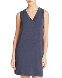 Hanro Champagne Tank Gown Crown Blue