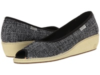 Keen Cortona Wedge Jute Black Women's Wedge Shoes