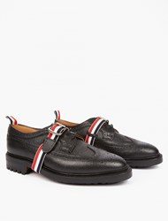 Thom Browne Strap Detail Leather Longwing Brogues
